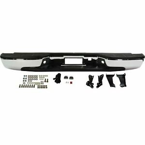 New Complete Rear Bumper Assembly For 1999 2006 Silverado Sierra Ships Today