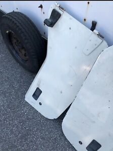 Half Doors Jeep Wrangler Yj Cj7 White