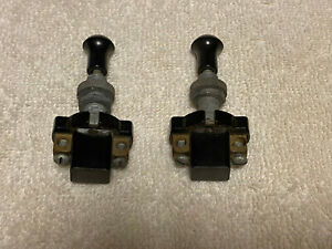 Horch Vintage Push Pull Switches