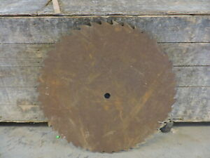 Antique 23 Round Sawmill Circular Blade Used