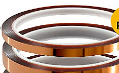 3mm X 36yrd Kapton High Heat Polyimide Silicon Adhesive Tape 1 5mil Thick