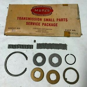 1933 1959 Nos Plymouth Dodge Chrysler Desoto Transmission Small Parts Package