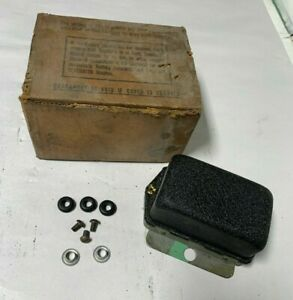 1956 1957 Nos Plymouth Dodge Chrysler Desoto Rebuilt Autolite Voltage Regulator