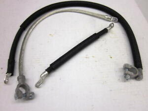 Mb Gpw Willys Ford Wwii Jeep G503 6 Volt Battery Cable Set
