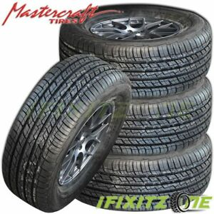 4 X Mastercraft Srt Touring 225 55r18 M S All Season High Performance Tires