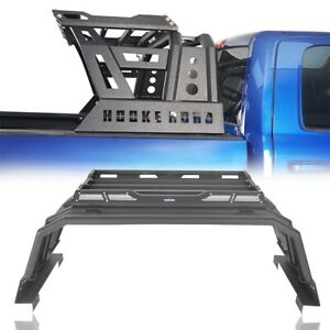 Truck Bed Black Steel Roll Bar Cage Cargo Rack Basket For 09 18 Ram 1500 Dodge