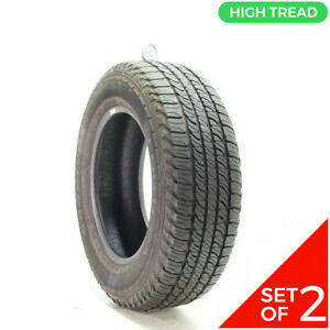 Set Of 2 Used 245 65r17 Goodyear Fortera Hl 105s 10 32