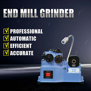 End Mill Grinder Cutter Sharpener 4 20mm Universal Sharpening Machine Kz x20