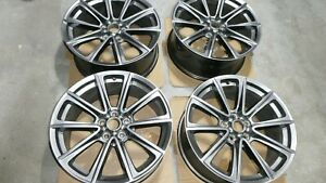 2017 Ford Mustang Factory Oem Wheels Hypersilver 19x8 5