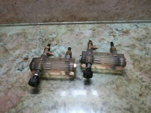 Sodick A500w Mark 21g Edm Wet Type Valve C30 sd3 Water Gauge lot Of 3 Pieces