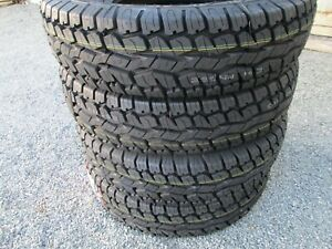 4 New Lt 245 75r16 Armstrong Tru trac At Tires 75 16 2457516 All Terrain A t E