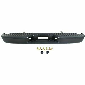 New Black Rear Step Bumper Assembly For 2004 2015 Nissan Titan Ships Today