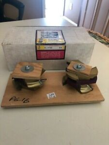 Lrh Shaper Cutter Molder Set K 782 1 1 4 King Cutters Brand New In Box
