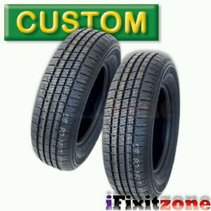 2 Tbc Brand Custom 428 A S P215 75r15 100s Wsw All Season Performance Tires