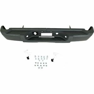 New Complete Rear Bumper For 2007 2010 Silverado 2500 Sierra 2500 Ships Today