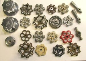 22 Vintage Valve Handles Water Faucet Knobs Steampunk Industrial Arts Crafts A