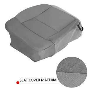 For 04 08 05 06 07 Ford F 150 F150 Gray Driver Side Bottom Cloth Seat Cover