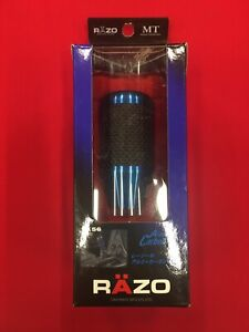 Razo Ra56 Blue Aluminum Carbon Fiber Shift Knob Jdm Japan M8 M12