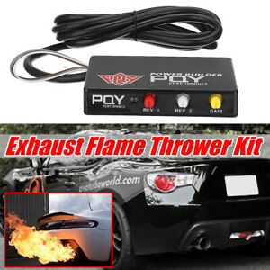 Car Racing Engine Performance Rev Limiter Power Builder Exhaust Flame Thrower