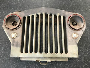Vintage 1940 S Jeep Grill