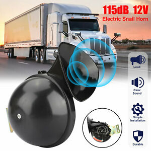 Universal 115db Super Loud Electric Horn Trumpet For Car Motorcycle Truck Train
