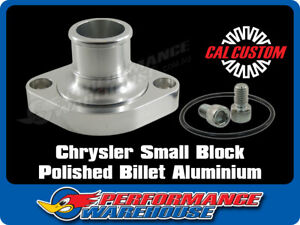 Cal Custom Chrysler Sb 273 318 340 360 Billet Alloy Swivel Thermostat Housing