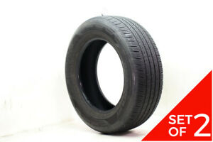 Set Of 2 Used 265 60r18 Hankook Dynapro Ht 110t 7 8 32