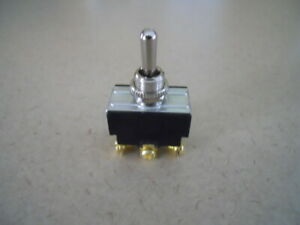 Momentary Contact Heavy Duty Toggle Switch New Old Stock
