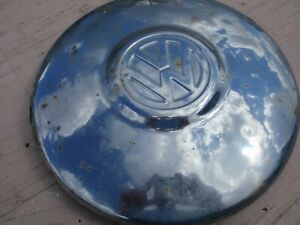 Vw Volkswagen Hubcaps Beetle Bus Ghia Thing Half Moon Wheel Cover