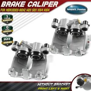 2pcs Brake Caliper For Mercedes benz W211 S211 X164 W164 W251 Front Left Right