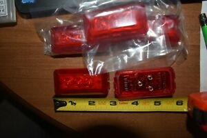 Lot Of 10 New Pm Peterson Mfg Co 3 Diode Led Marker Clearance Lights