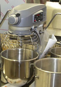 Commercial Planetary Stand Mixer With Accessories