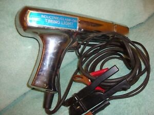 Timing Light Vintage Montgomery Ward Metal Case Inductive Clamp On