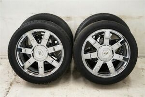 22 Cadillac Escalade Chevy Tahoe Gmc Yukon Denali Chrome Oem Wheels Tires 20 24
