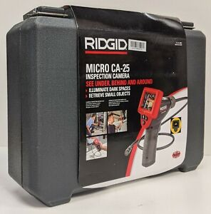 Ridgid Micro Ca 25 Inspection Camera With Carry Case New