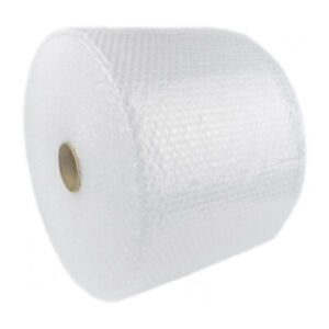 175 Feet Clear Anti static Bubble Wrap Roll 12 Wide Perforated Every 12 Inch