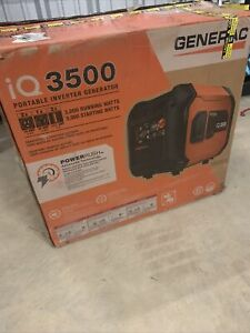 Generac 7127 3500w Ultra quiet Electric Generator Gas Generator 1508