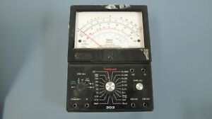 Simpson Model 303 3xl Solid State Electronic Rechargeable Volt Ohm Milliammeter