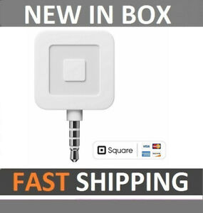 New Square Credit Card Reader For Apple And Android Sealed