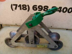 Greenlee 6036 6000 Lbs Triple Sheave Wire Pulling Tugger Puller Great Shape 3