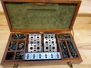 Moore Tools Toolmaker 12 Block Set Matching Set Hardware Case Well Kept