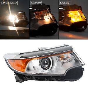 Front Headlight Headlamp For 2011 2013 Ford Edge Right Hand Passenger Side