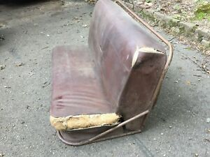 1940s Plymouth Oldsmobile Mercury Ford Chevrolet Buick Nash Woody Wagon Seat