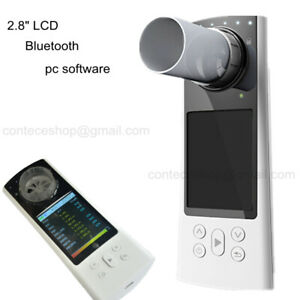 Digital Spirometer Lung Breathing Diagnostic Bluetooth Spirometry Pc Software