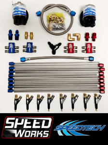 Speedtech Tech 1 Direct Port Fogger Kit Drag Racing Nitrous Nos Race V8