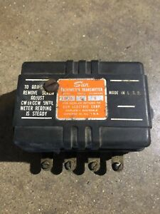 Sun Eb 2a Transmitter Rat Rod Chevy Ford Pontiac Buick Olds Sun Tachometer