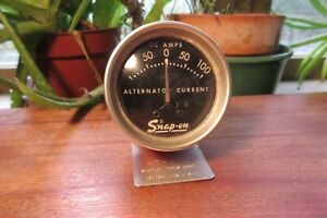 Vintage Snap On Alternator Generator Tester Mt 112 Current Indicator Gauge