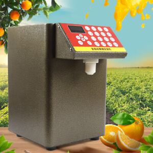 8000cc Fructose Quantitative Fructose Dispenser Milk Tea Soft Drink Machine 110v