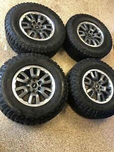 Ford F 150 Raptor Tires And Wheels Oem Takeoffs 285 70r17 Goodyear 6x135 Pattern