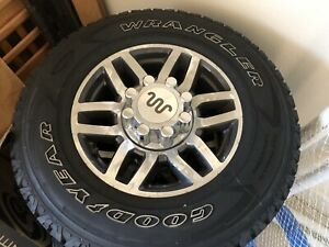 New Take Off Ford F 250 F 350 King Ranch 18 Wheels And 33 Tires Goodyear 8x170